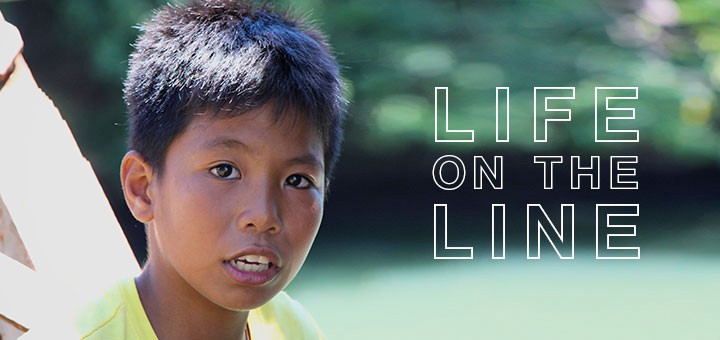 Boy who lives on the railway line