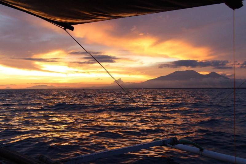 Mt Banahaw sunset, Quezon Province